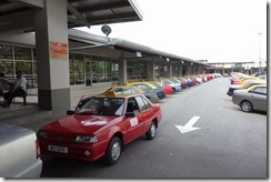 Melaka is well provisioned with taxis