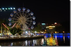 River at night again