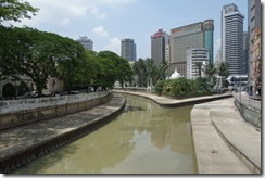 The Rivers Klang and Gombak meet to form the 'muddy river' that gave KL its name