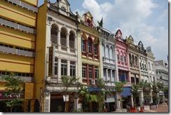 Pretty colonial houses