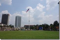Merdeka Square and the 100m flagpole