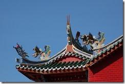 Decoration on Hindu temple