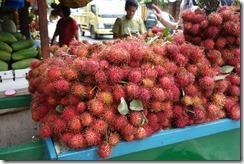 Rambutan fruit. Like lichee. Tasty!
