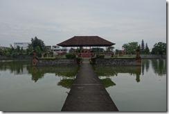 Floating pavillion at Mayura Water Palace