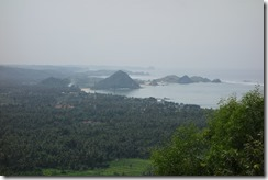 Dramatic coast line