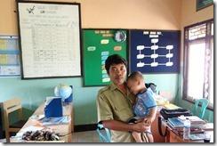 Friendly teacher