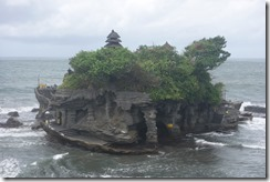 Morning view of Tanah Lot