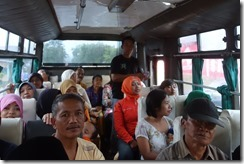 On the bus from Jember to Bondowoso