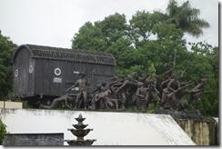 War memorial monument in Bondowoso