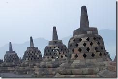 Stone stupas