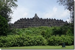 View of Borobudur Temple in better light