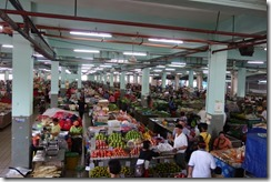 Sibu market - the best we have seen on our travels