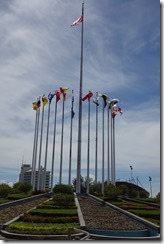 Malaysian state flags in Merdeka Square