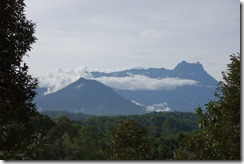 Mt Kinabalu in its glory