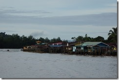 Houses on the Limbang River