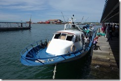 Unloading ferry at Labuan