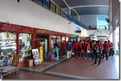 Duty free shops in Labuan ferry terminal