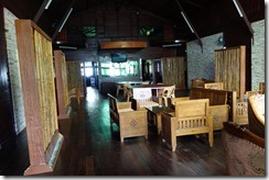 Communal area at Damai Eco Ranch