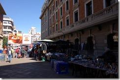 Street market outside Park Station, Jo'burg