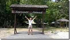 First prize on Survivor Island!