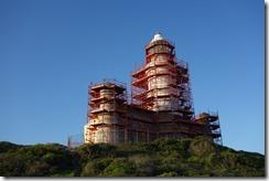 Lighthouse still under repair