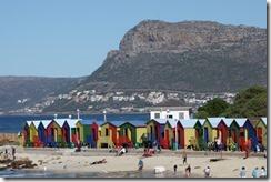 Beach huts in Simon's Town