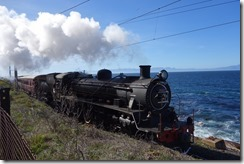 Steam train on its way to Simon's Town