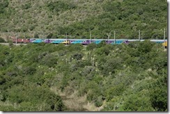 Yes, it is all our train!