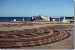 Looking out at the pier in Summerstrand, Port Elizabeth