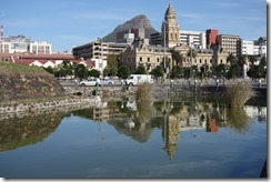 Moat, City Hall and Lion's Head