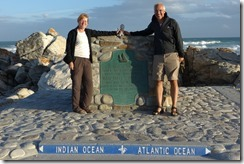 At the southernmost tip of Africa