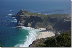 Looking down on the Cape of Good Hope