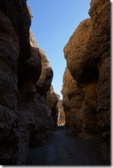 In the Sesriem Canyon