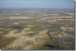 Looking down on the delta