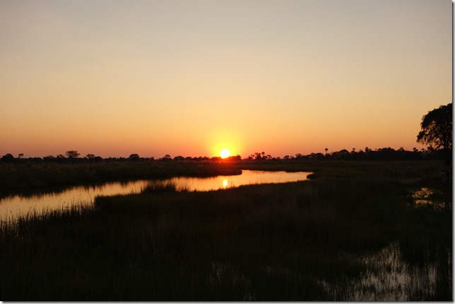 Its another African sunset