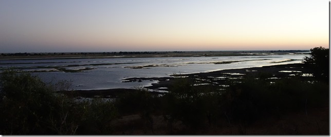 Dawn comes to Chobe National Park
