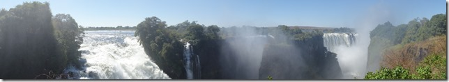 Panorama of the falls
