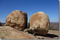 Boulders by Rhodes grave