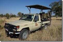 Our private safari truck