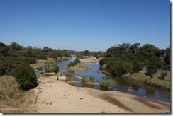 River running dry