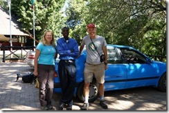 With Annex, our favourite taxi driver in Livingstone