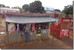 Zambian stall