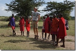 In the Maasai jumping competition
