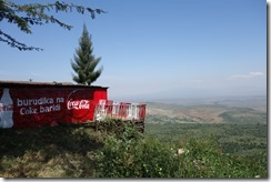 Lookout spot on the escarpment above the Great Rift Valley