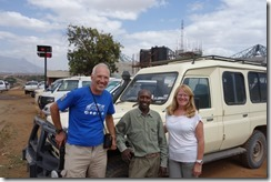 With Paul, our driver & guide for the Masai Mara and Amboseli