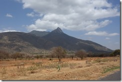 Mt Meru - on our way to Arusha