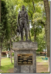 Zapata - For once a statue not related to Independence