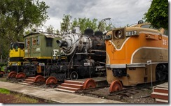 Trains of different ages & eras