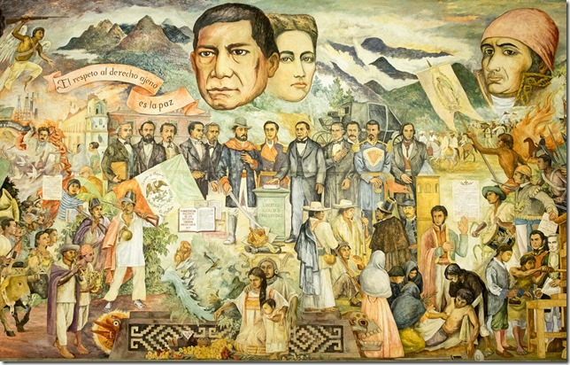 Part of large Mural