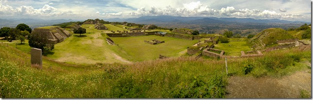 Panorama of Monte Alban